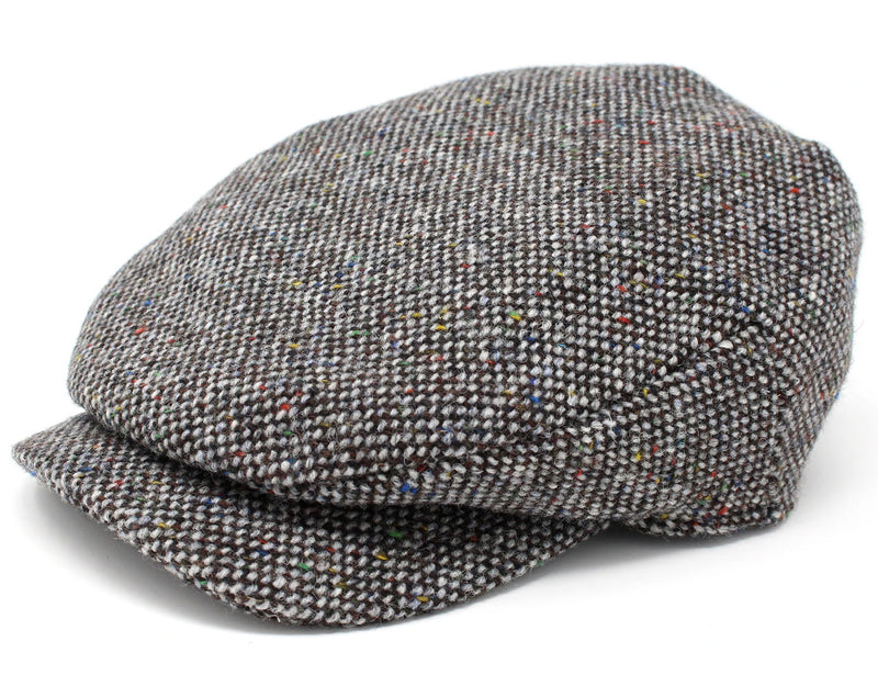 Hanna Daithi Tweed Cap | Grey Salt and Pepper