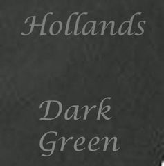 dark green colour swatch