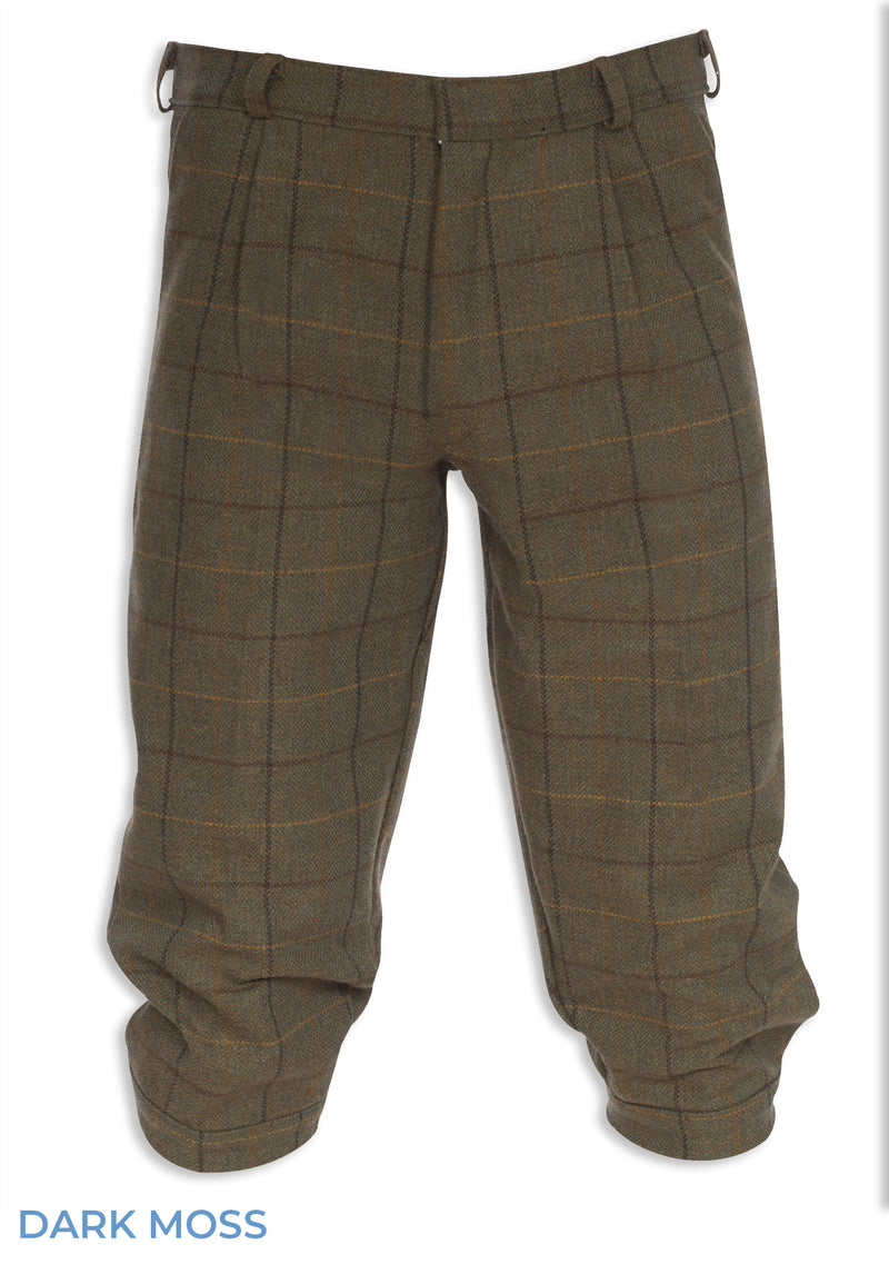 Dark Moss Alan Paine Rutland Tweed Breeks