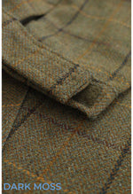 Dark Moss Tweed brek adjusters