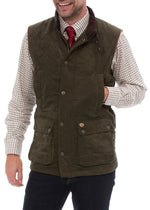 hand warmer pockets Alan Paine Felwell Quilted Waistcoat