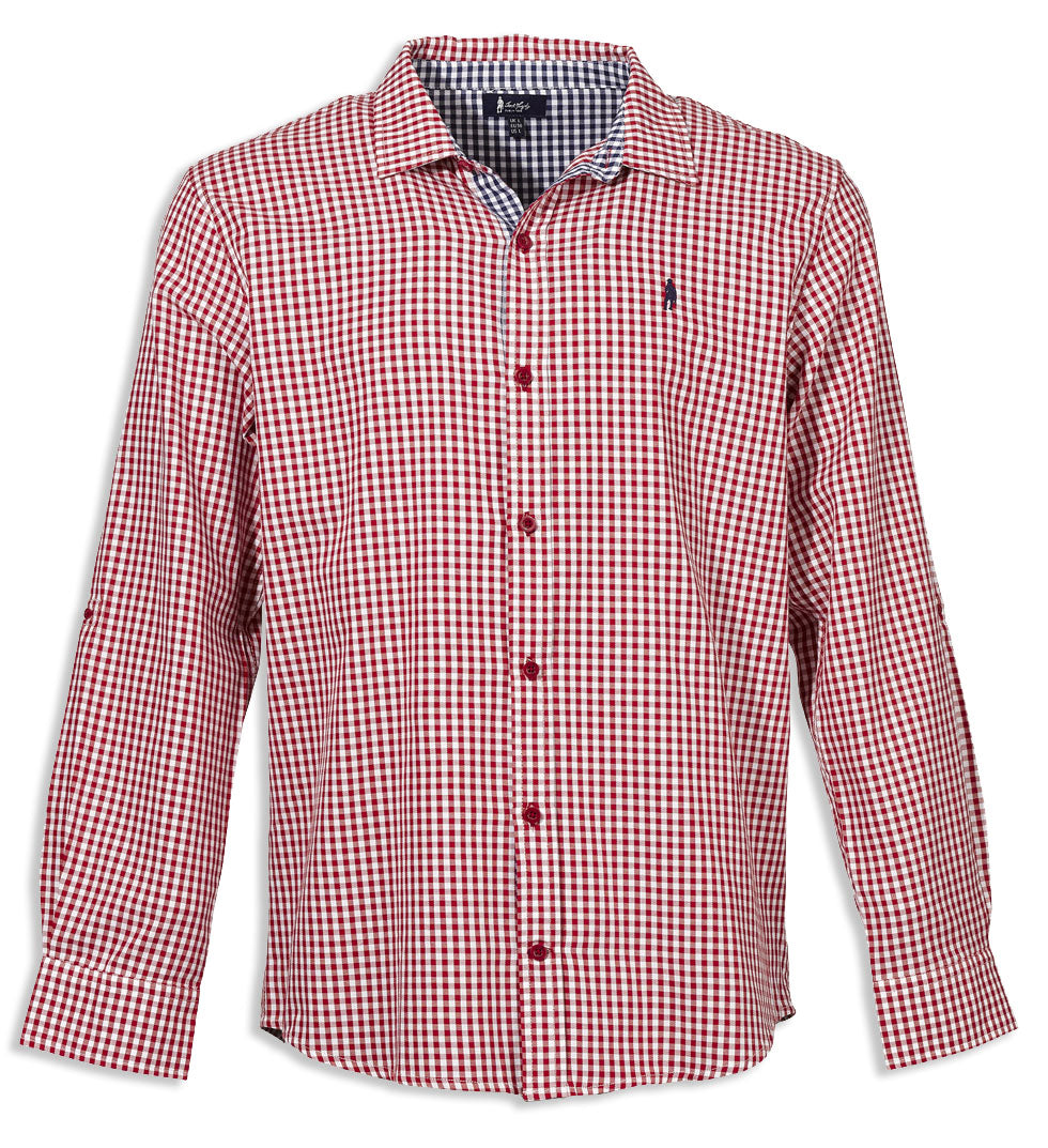 red rio Jack Murphy Davis in Gingham Check