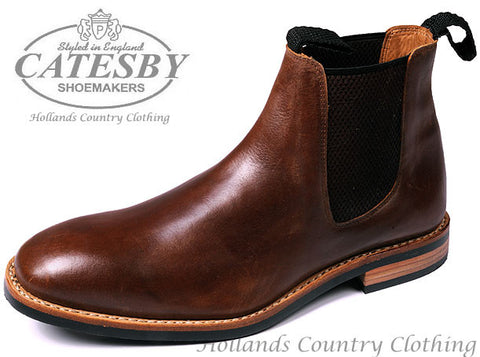 Catesby Seamless Upper Dealer Boot - Single Leather Piece Upper