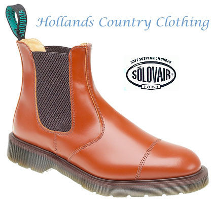 a39d0026018 Solovair Cushion Sole Dealer Boots – Hollands Country Clothing
