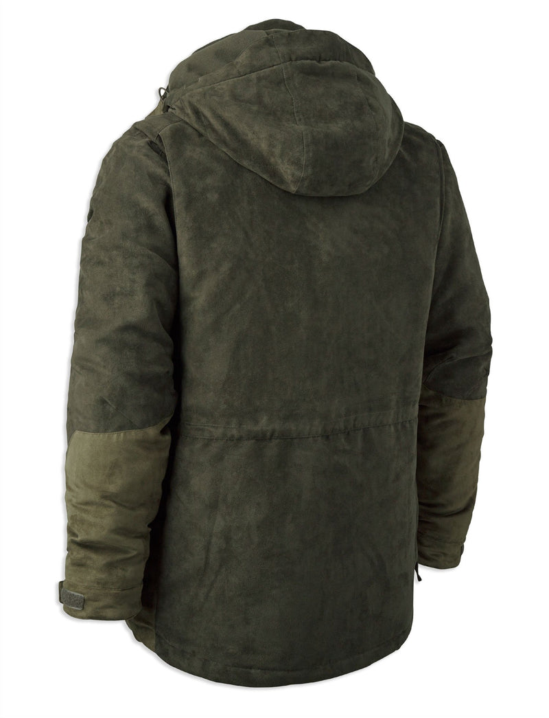 REar View Deerhunter Deer Winter Jacket