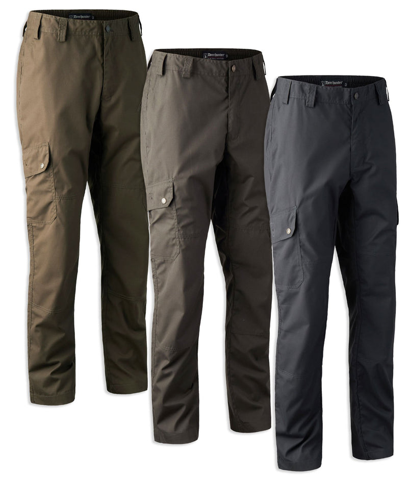 Deerhunter Lofoten Trousers | Fallen Leaf, Deep Green, Black Ink