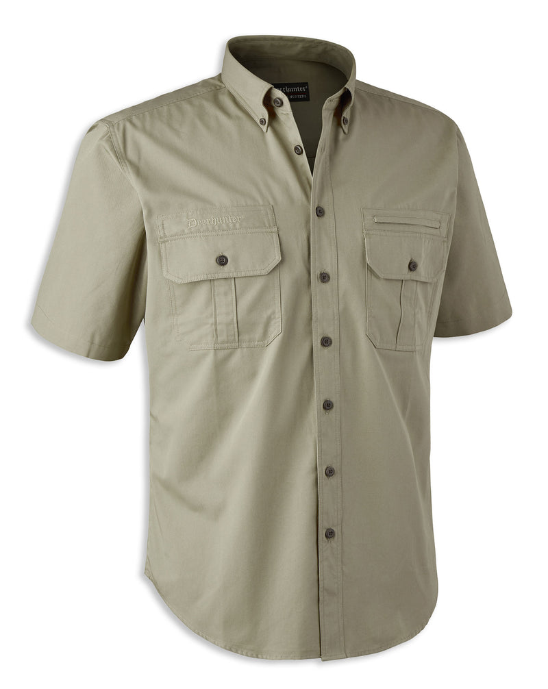 Deerhunter Caribou Short Sleeve Shirt chinchilla