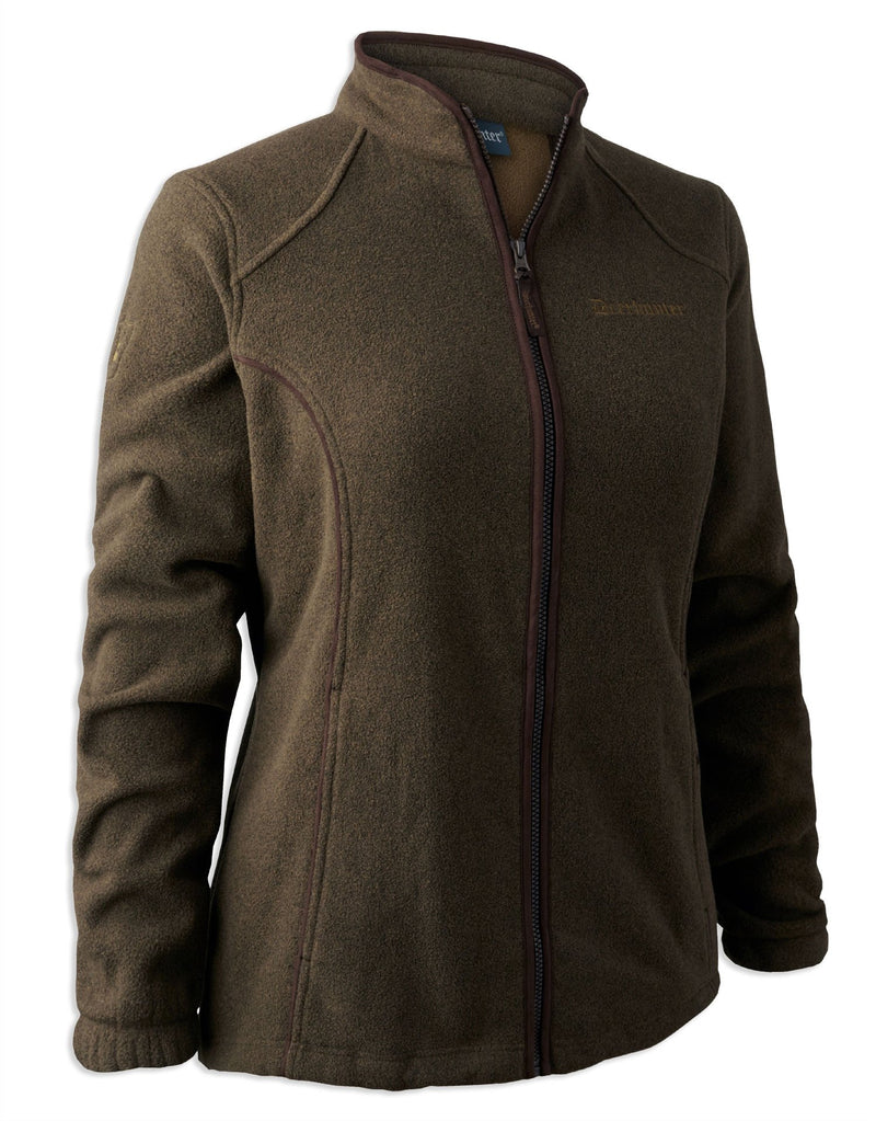 Deerhunter Lady Josephine Fleece Jacket | Graphite Green,