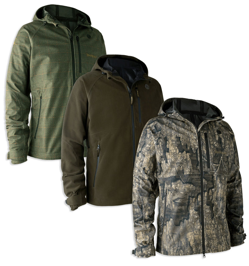Deerhunter PRO Gamekeeper Jacket | Short | Peat, Realtree Timber, Turf