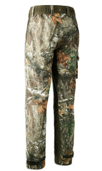 Back View Deerhunter Shooting Trousers in Realtree edge Camouflage