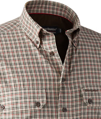 Collar detail Deerhunter Ridley Bamboo Check Shirt