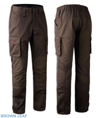 Brown Leaf Deerhunter Rogaland Stretch Trousers