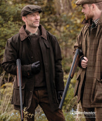 shooting party Deerhunter Woodland Waterproof Shooting Jacket | Loden Green
