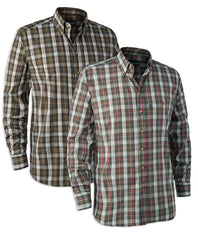 Deerhunter Craig Check Shirt in Red/Green and Brown/Green