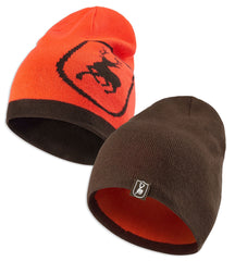 Deerhunter Cumberland Reversible Beanie Orange and Green