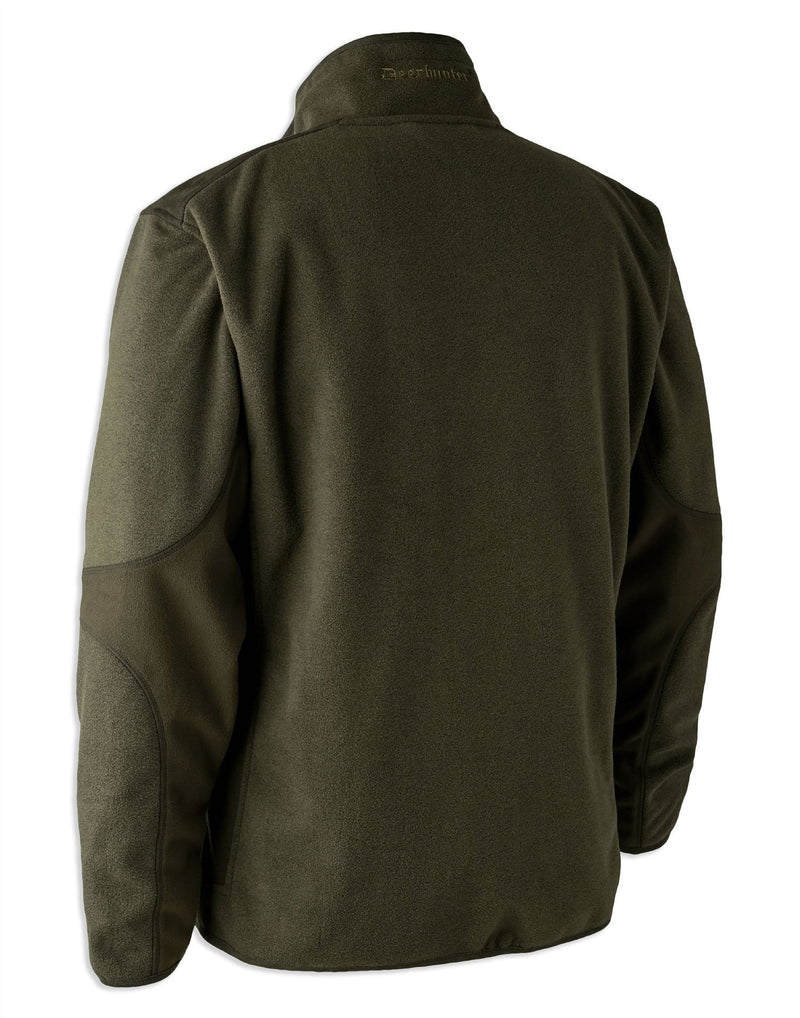 Graphite Green Deerhunter Gamekeeper Bonded Fleece Jacket