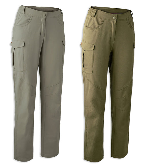 Deerhunter Lady Rose Trousers | Vintage Khaki,  Beech Green