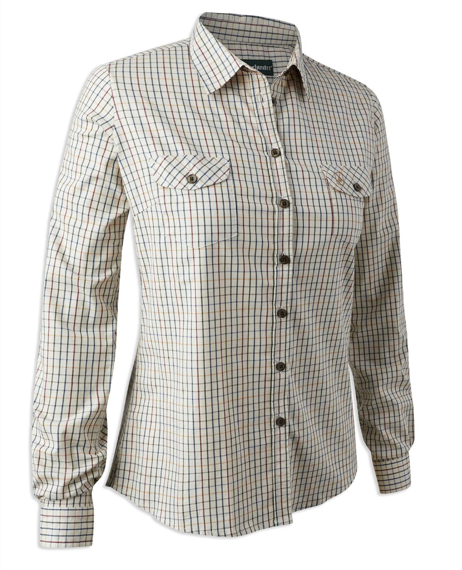 Deerhunter Isabella Tattersall Check Shirt with Stretch