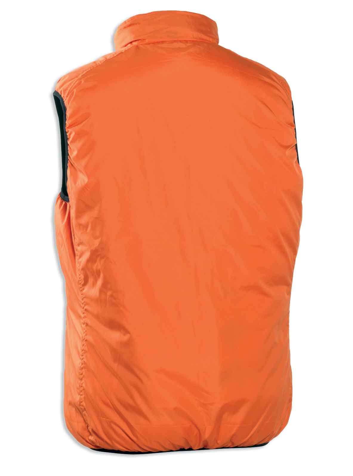 back view hi vis Deerhunter Attack Reversible Waistcoat