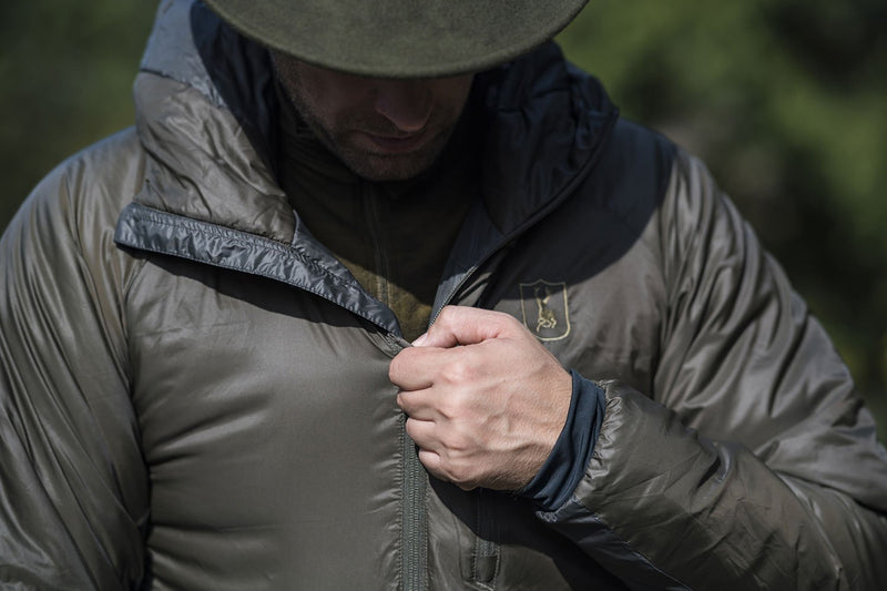 Deerhunter water repellent and lightweight insulating jacket
