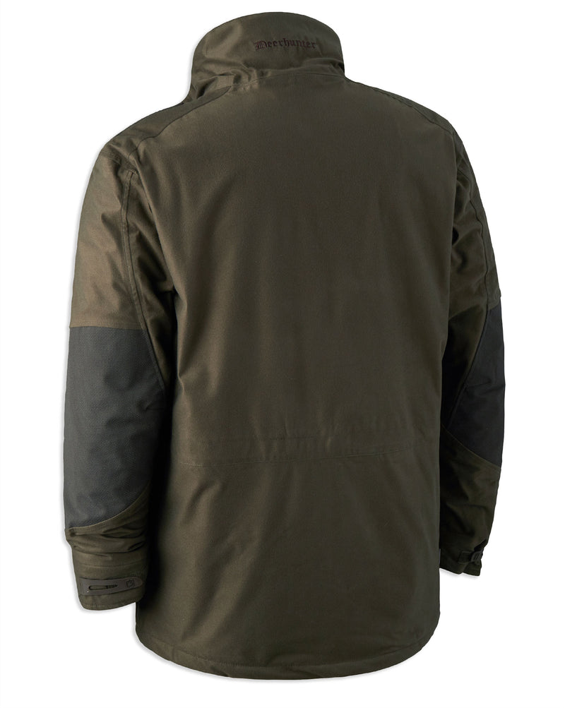 Back View Deerhunter Cumberland PRO Jacket | Dark Elm