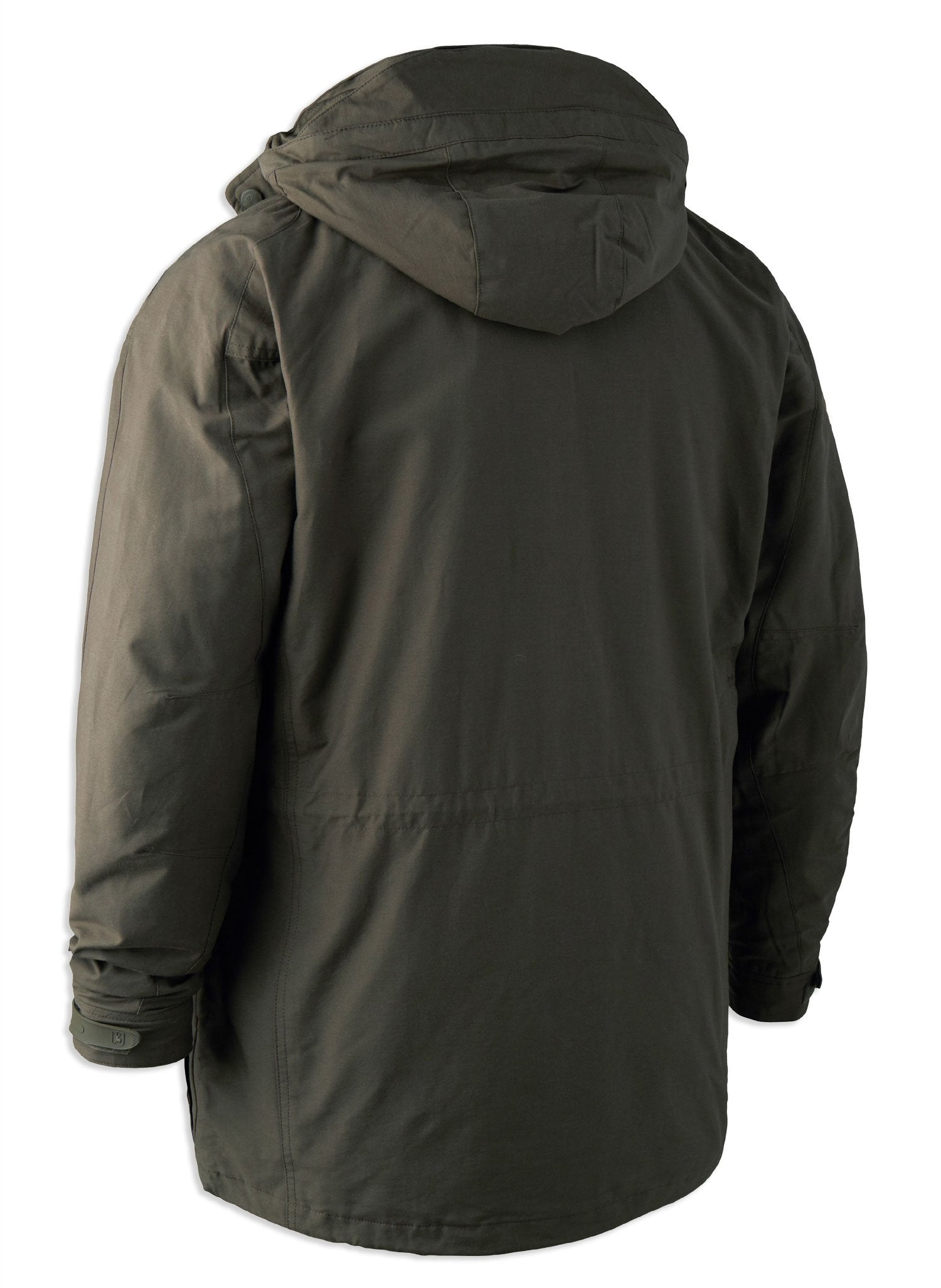 Back View Deerhunter Upland Jacket | Canteen Green