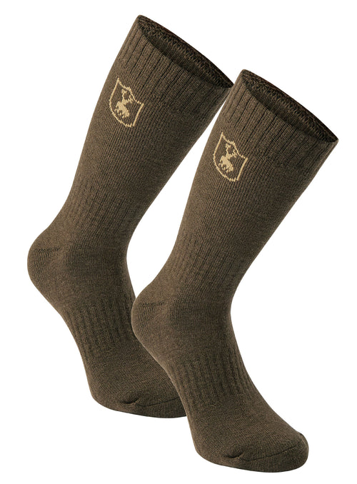 Deerhunter 2 Pack Wool Socks | Short