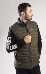 Authentic Caterpillar work thermal gilet