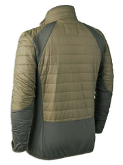 Back View Dusty Green Deerhunter Oslo Padded Inner Jacket
