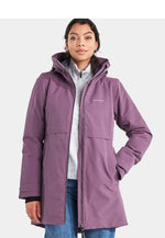 Eggplant Didriksons Helle III Ladies Waterproof Winter Parka Coat