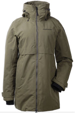 Crocodile Green Didriksons Helle II Waterproof Parka