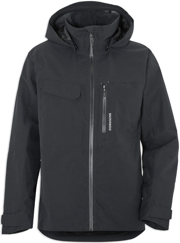 Didriksons Aston Waterproof Jacket | Black