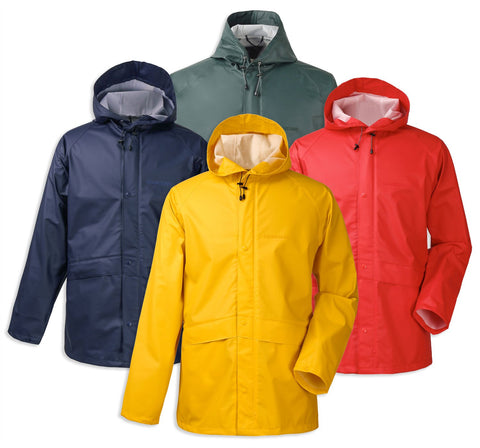 Didriksons Avon Waterproof Jacket | Yellow, Chilli Red, Navy, North Sea