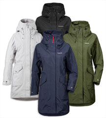 Didriksons Ladies Thelma Waterproof parka coat