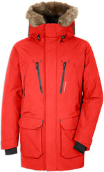 Lava Red Didriksons Marco Waterproof Parka