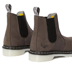 Ladies Dr Marten Chelsea Boots with light Grey sole