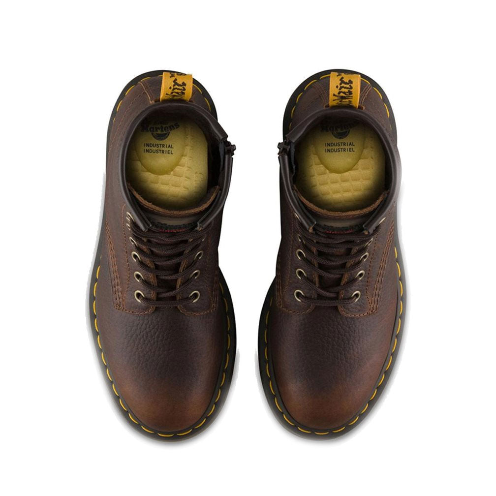 Premium leather upper Doc boot