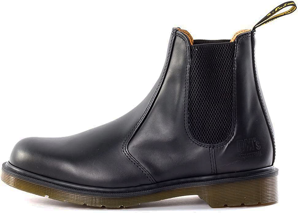 Left foot Doc Martens Classic Black Chelsea Boot. B8250