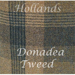 Donadea Ladies  Quilted Tweed Jacket