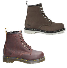 Dr Marten's Maple Women's Work Boots | Teak ,  Grey