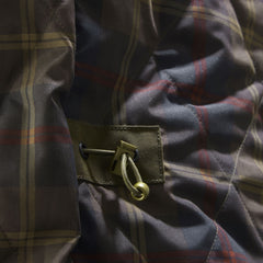 Musto Tartan lining and drawstring