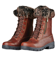Dublin Bourne Boots with Fur Trim