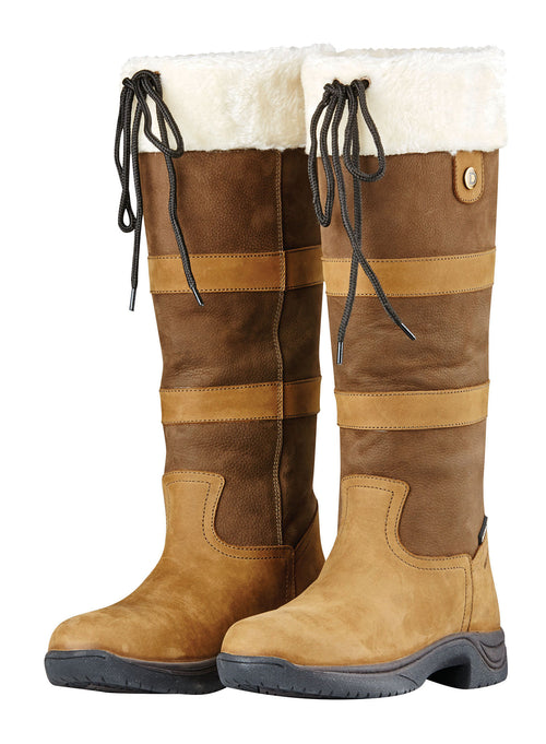 Dublin Eskimo Boots II with Fleece Trim