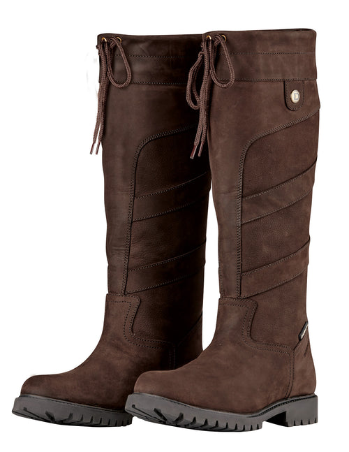 High Leg Leather Country Boots