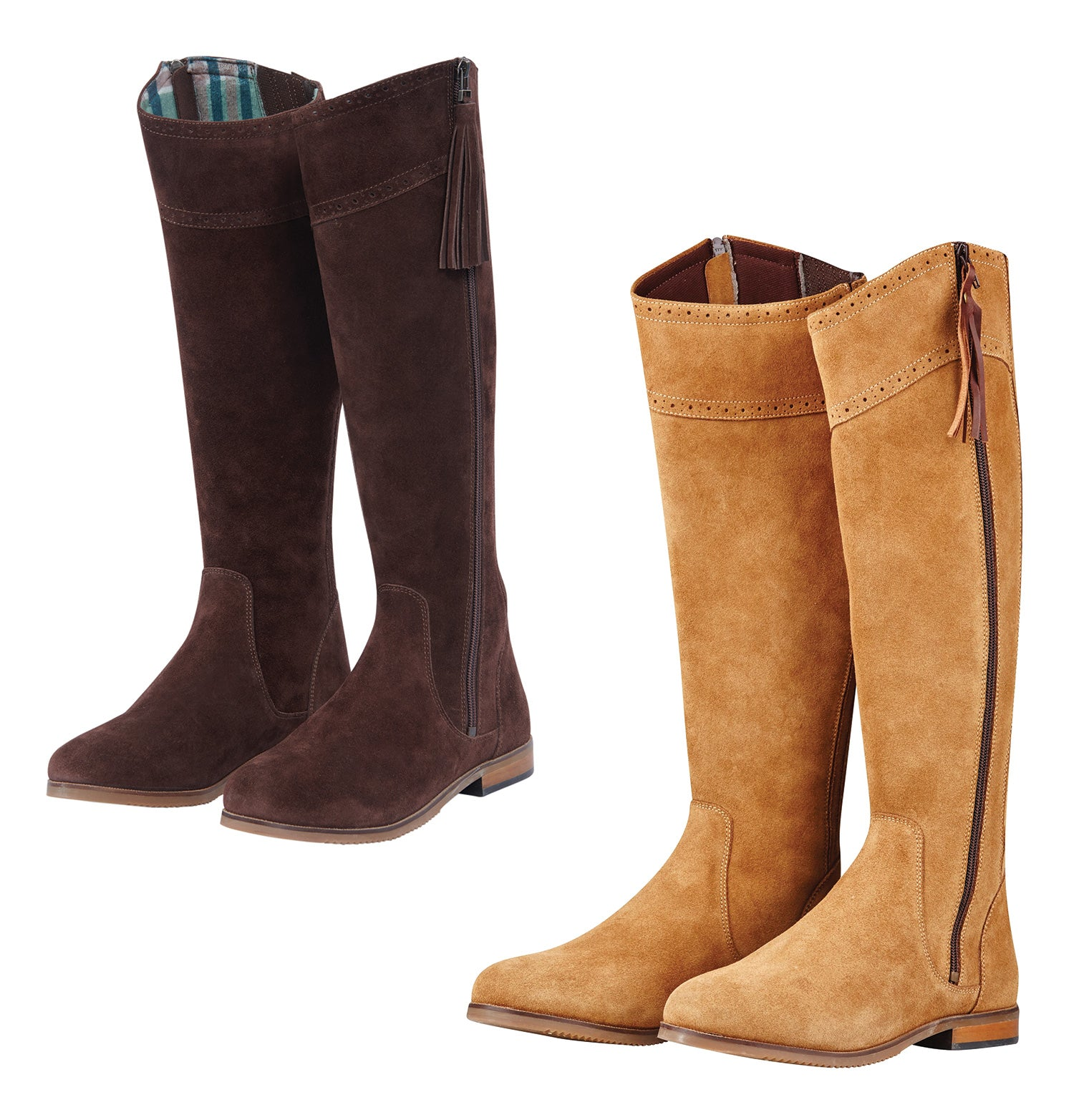 Dublin Kalmar SD Tall Boots | Chocolate, Stone