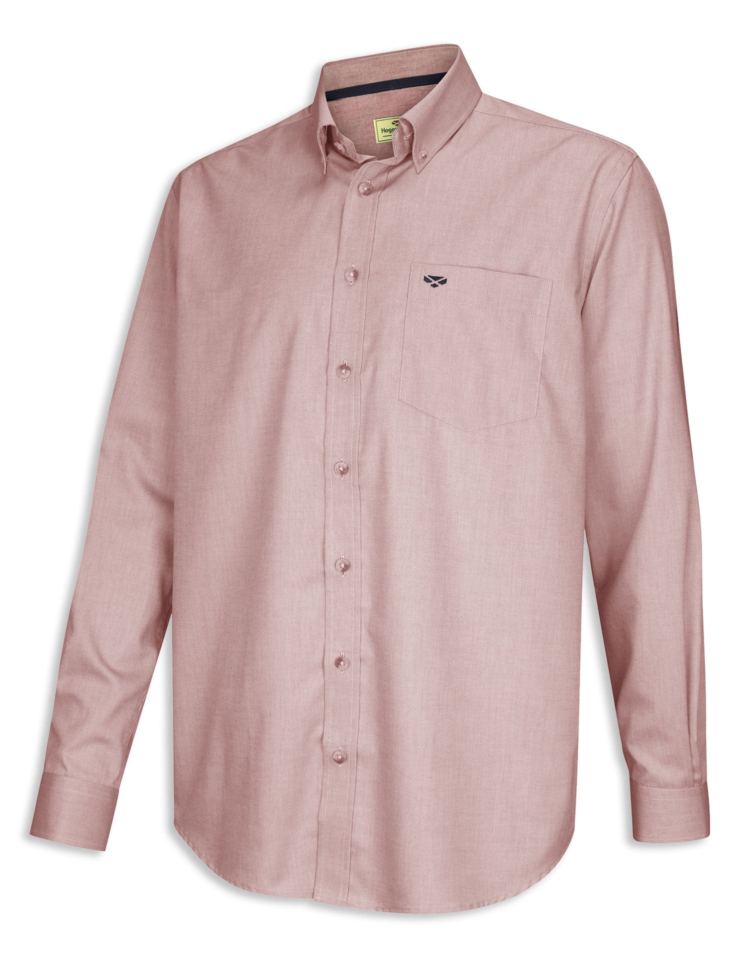 Hoggs Dunedin Plain Oxford Shirt | Wine