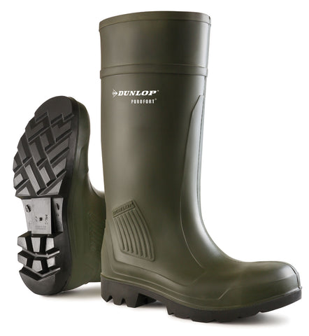 Dunlop Purofort Professional Wellingtons - Dark Green W178E