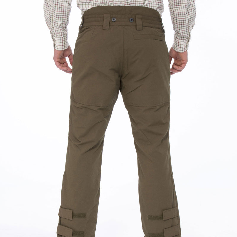 rear view Dunswell Men's Waterproof Trousers by Alan Paine