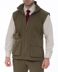 Dunswell Men's Waterproof Waistcoat by Alan Paine