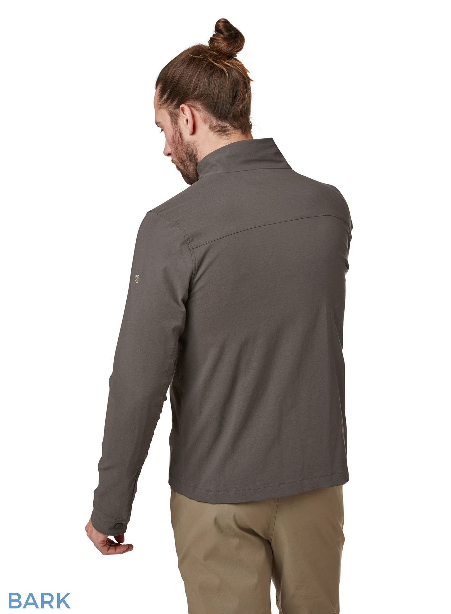 Back view Edmund Multi pocket short Travel Jacket by Craghoppers